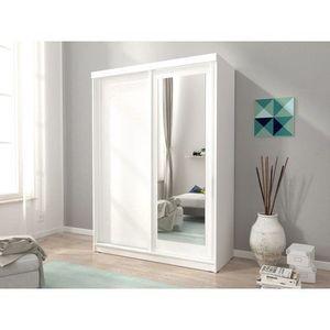 PIASKI skříň ALBANY 150, bílá 150x200x62 bílá / bílá obraz
