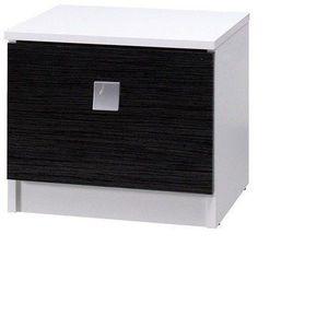 MARIDEX noční stolek LAVERN II, bílá 61x36x35 bílá obraz