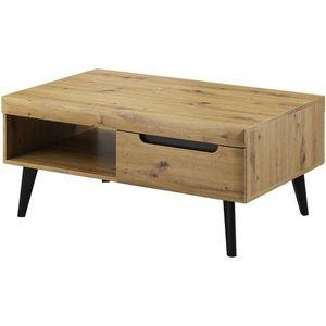 PIASKI Konferenční stolek NOVA, dub artisan 107x46x67 dub artisan obraz