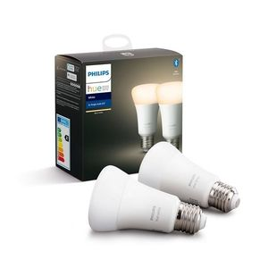 Philips SADA 2x LED Stmívatelná žárovka Philips HUE WHITE E27/9W/230V obraz