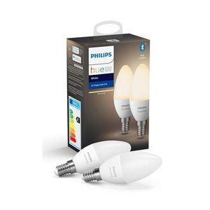 Philips SADA 2x LED Stmívatelná žárovka Philips HUE WHITE E14/5, 5W/230V obraz