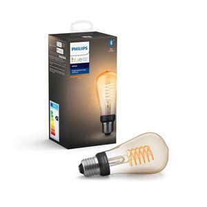Philips LED Stmívatelná žárovka Philips HUE WHITE FILAMENT ST64 E27/7W/230V obraz