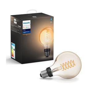 Philips LED Stmívatelná žárovka Philips HUE WHITE FILAMENT G93 E27/7W/230V obraz