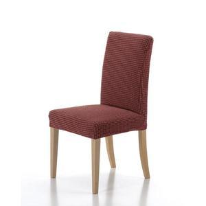Forbyt, Potah elastický na celou židli, komplet 2 ks SADA, cihlová obraz