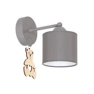 Milagro Dětské nástěnné svítidlo BEAR 1xE27/60W/230V obraz