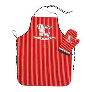 Forbyt, Zástěra kuchyňská, Master Chef, červený obraz
