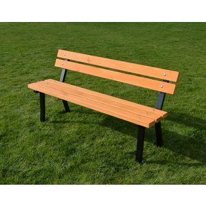 Zahradní lavice kovová obraz
