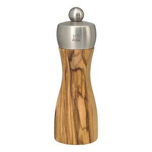 FIDJI OLIVE mlýnek na pepř 2 velikosti, olivové dřevo Výška: 15 cm obraz