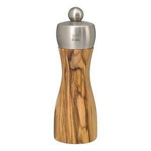 FIDJI OLIVE mlýnek na sůl 2 velikosti, olivové dřevo Výška: 15 cm obraz