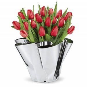 Designové ocelové vázy obraz