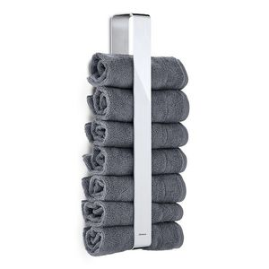 Nástěnný držák na ručníky leštěný NEXIO - Blomus obraz