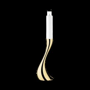 Podlahový svícen Cobra, 40 cm, zlatý - Georg Jensen obraz