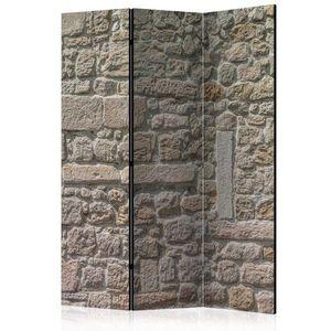 Paraván Stone Temple Dekorhome 135x172 cm (3-dílný) obraz