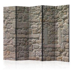 Paraván Stone Temple Dekorhome 225x172 cm (5-dílný) obraz