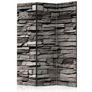 Paraván Stony Facade Dekorhome 135x172 cm (3-dílný) obraz
