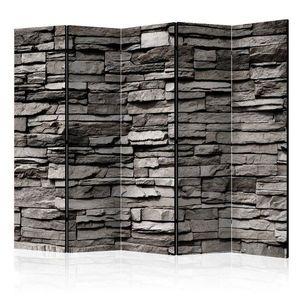 Paraván Stony Facade Dekorhome 225x172 cm (5-dílný) obraz