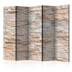 Paraván Stony Gracefulness Dekorhome 225x172 cm (5-dílný) obraz
