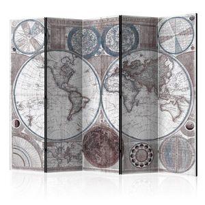 Paraván Terraqueous Globe Dekorhome obraz