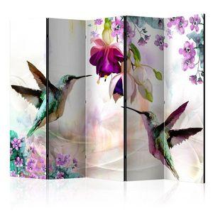 Paraván Flowers Dekorhome obraz