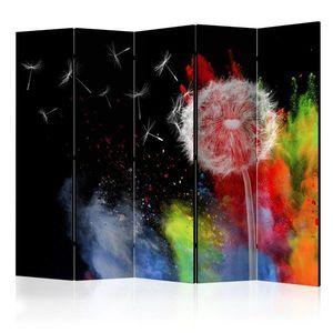Paraván Colourful Element Dekorhome obraz