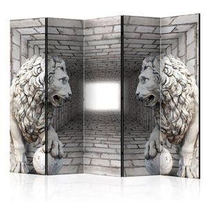 Paraván Stone Lions Dekorhome obraz