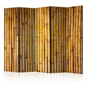 Paraván Bamboo Garden Dekorhome 225x172 cm (5-dílný) obraz