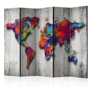 Paraván Concrete World Dekorhome obraz