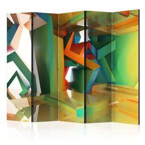 Paraván Colourful Space Dekorhome obraz