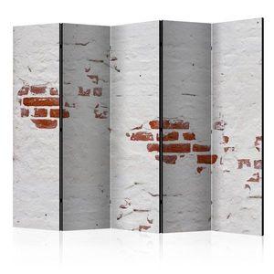 Paraván Stony Secret Dekorhome 225x172 cm (5-dílný) obraz