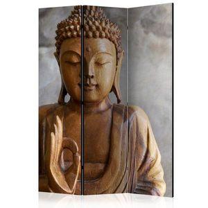 Paraván Buddha Dekorhome 135x172 cm (3-dílný) obraz