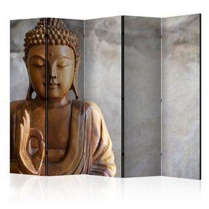 Paraván Buddha Dekorhome 225x172 cm (5-dílný) obraz