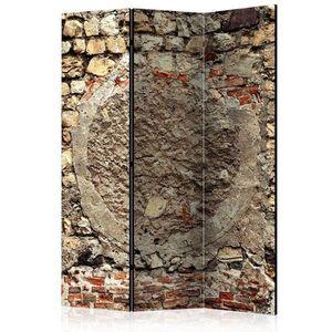 Paraván Stony Battle Dekorhome 135x172 cm (3-dílný) obraz