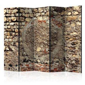 Paraván Stony Battle Dekorhome 225x172 cm (5-dílný) obraz