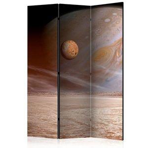 Paraván A small and a big planet Dekorhome 135x172 cm (3-dílný) obraz