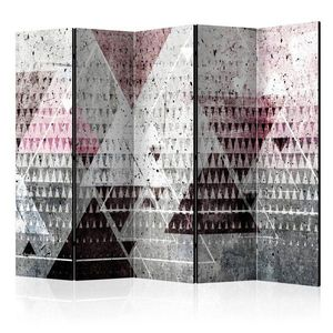 Paraván Triangles Dekorhome obraz