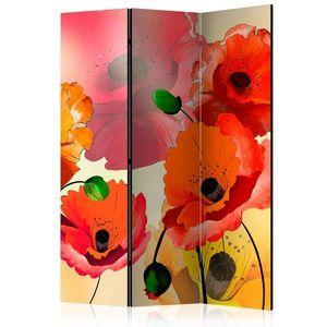 Paraván Velvet Poppies Dekorhome obraz