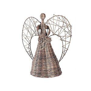 Anděl proutěný provence srdce Elegance I. obraz