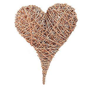 Dekorační proutěné srdce Herz III. obraz