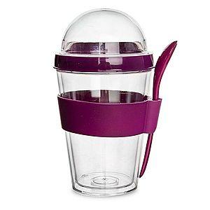 Orion Pohár UH na jogurt s držákem na lžičku obraz
