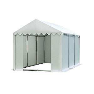 Skladový stan 4x6m PROFI Bílá obraz