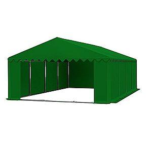 Skladový stan 5x8m PREMIUM Zelená obraz