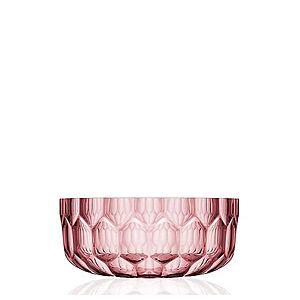 Kartell Jellies salátová mísa světle růžová obraz