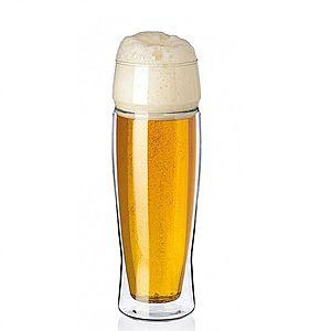 Simax Dvoustěnná sklenice na pivo EXCLUSIVE 0, 5 l, 2 ks obraz