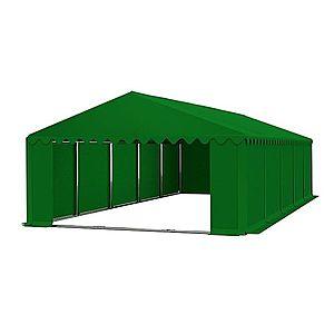 Skladový stan 6x10m PREMIUM Zelená obraz
