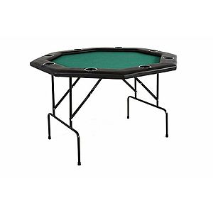 Garthen 510 Poker stůl osmihran skládací 122 x 122 x 76 cm obraz