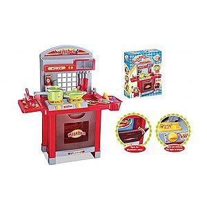 G21 Superior 52046 Dětská kuchyňka s příslušenstvím červená obraz