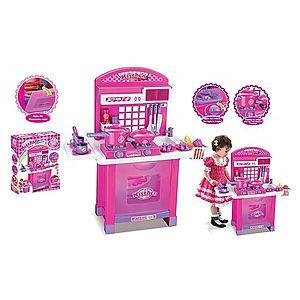 G21 Superior 52044 Dětská kuchyňka s příslušenstvím růžová obraz