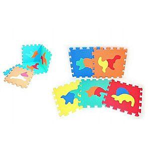 Wiky Pěnové puzzle Dinosauři 30x30cm 10 ks obraz