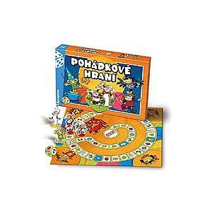 Večerníček Pohádkové hraní společenská hra v krabici 35x23x4cm obraz