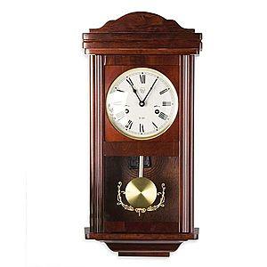 Tuin THESEUS 1403 Nástěnné kyvadlové hodiny mahagon - 60 cm obraz